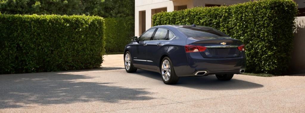 Chevrolet Impala back view