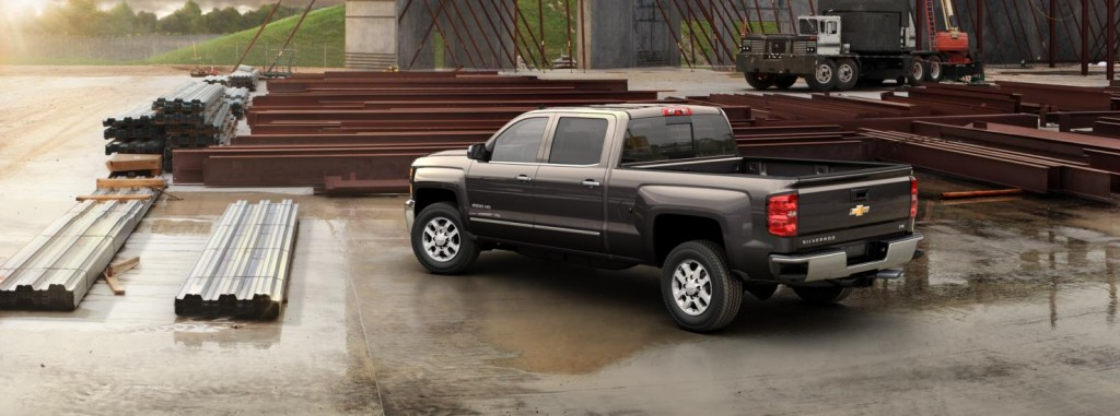Chevrolet Silverado 2500HD back view