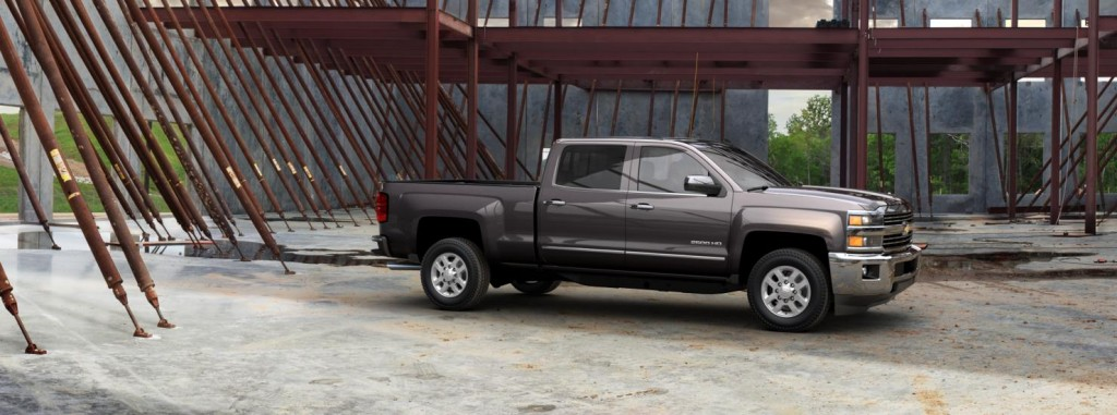 Chevrolet Silverado 2500HD other side view