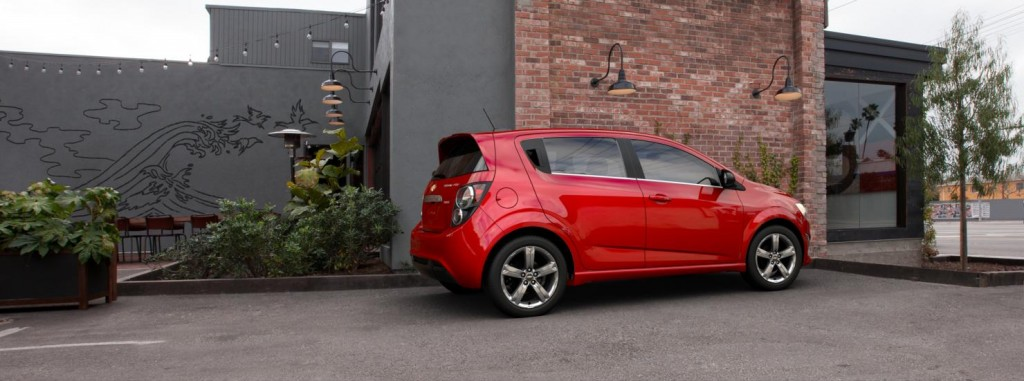 Chevrolet Sonic side view