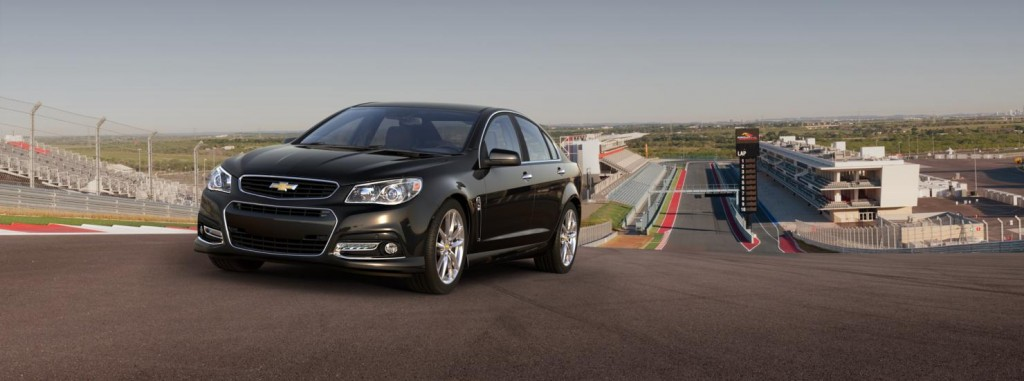 Chevrolet SS front view