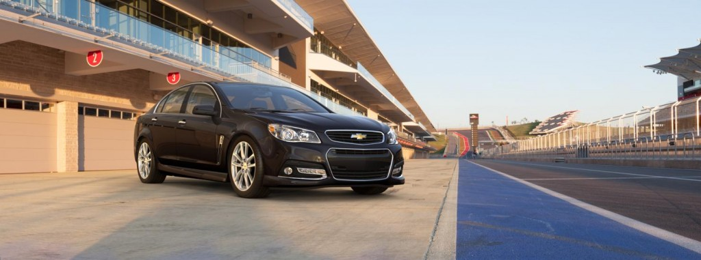 Chevrolet SS front side view