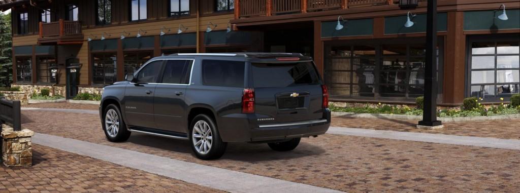 Chevrolet Suburban back view