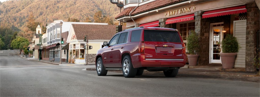 Chevrolet Tahoe back view