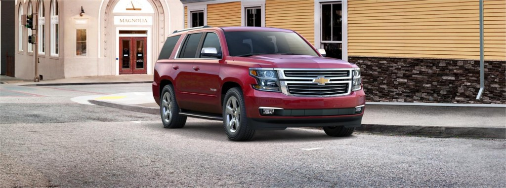 Chevrolet Tahoe front side view