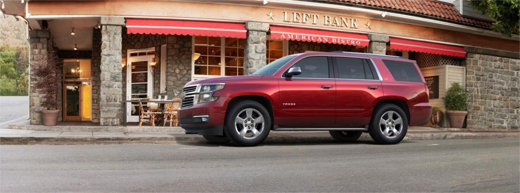 Chevrolet Tahoe side view