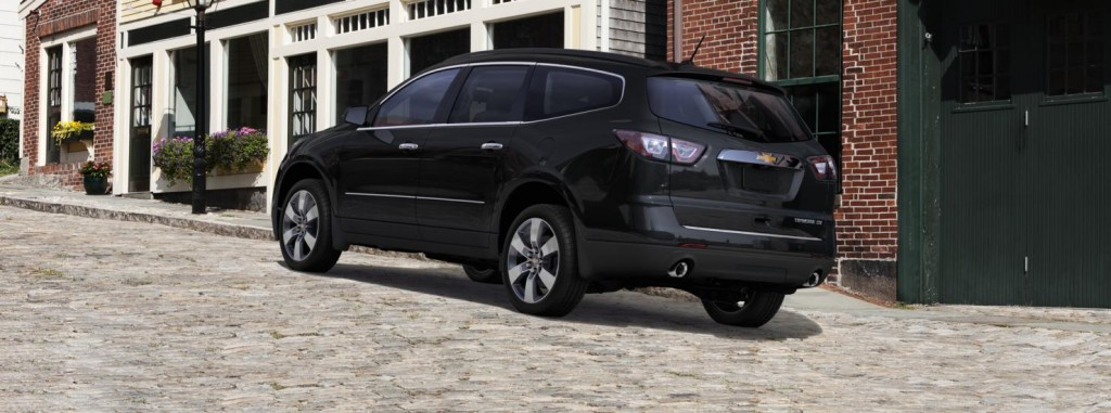 Chevrolet Traverse back view