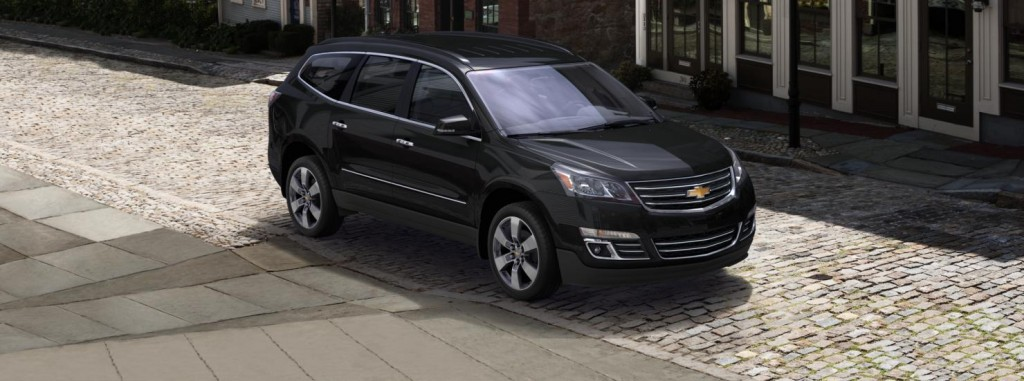 Chevrolet Traverse front side view