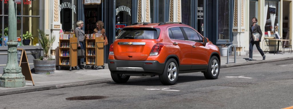 Chevrolet Trax back view