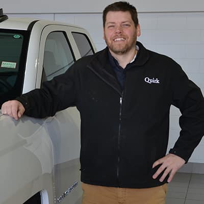 Quirk Chevrolet Chevy Service Advisor