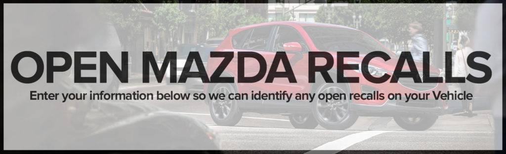 Open Mazda Recalls