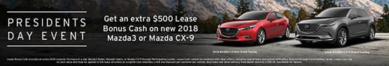 President Day Lease markets $500 LBC MZ3 and CX9 600x90