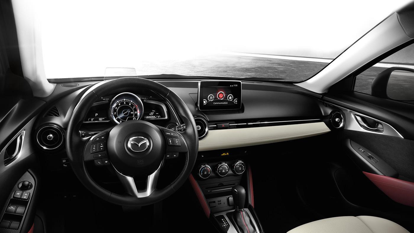 Mazda Cx 3 Interior