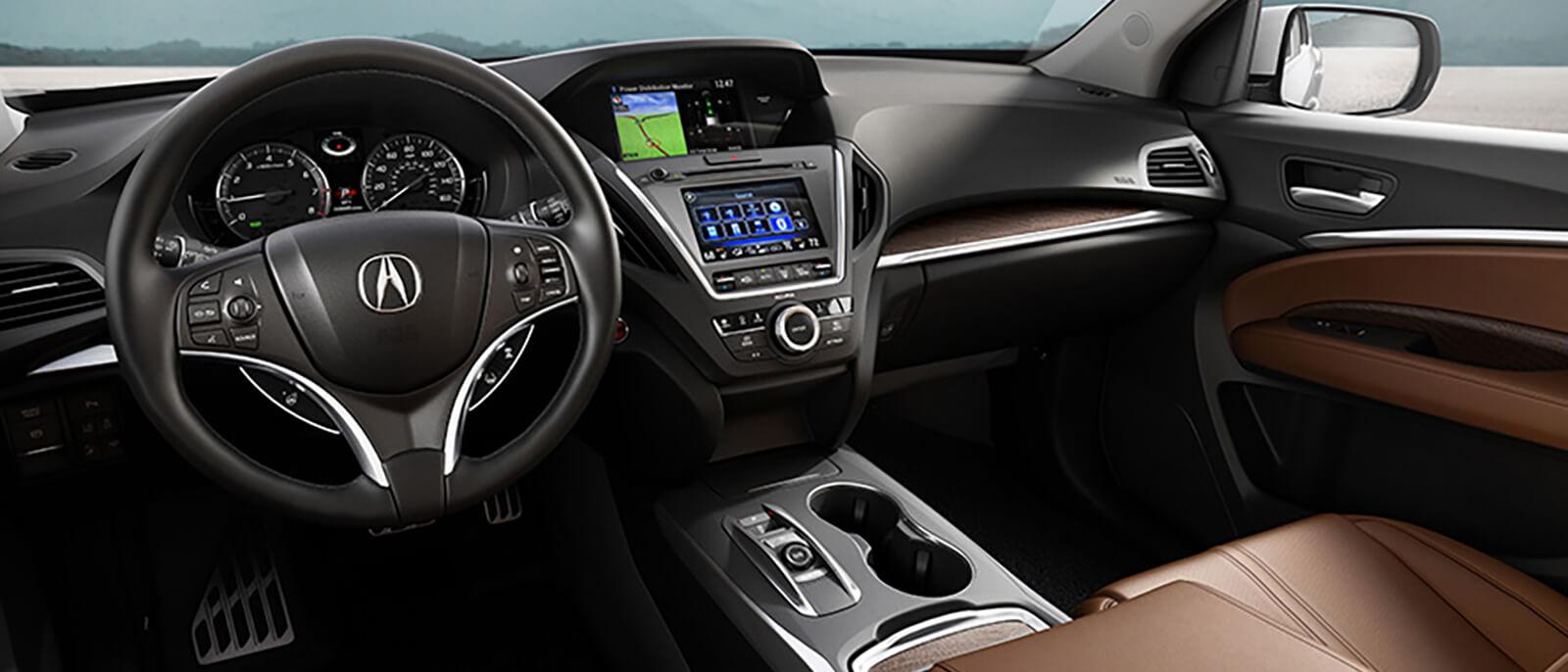 2017 Acura MDX Sport Hybrid Interior