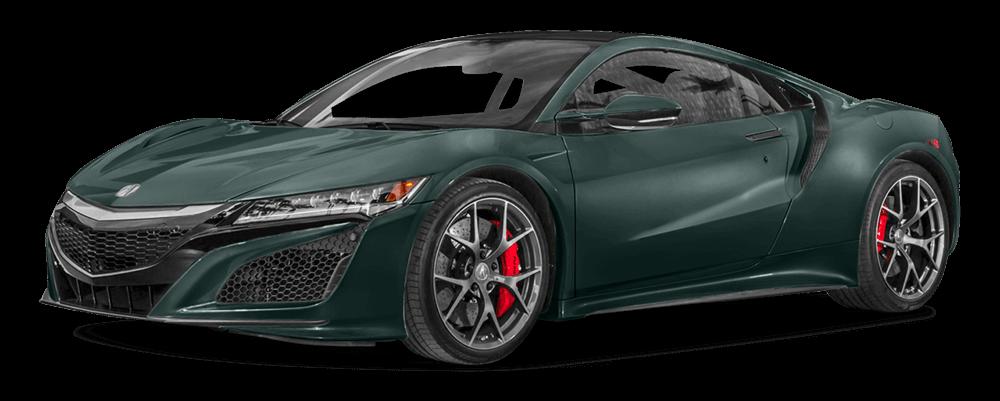 2017 Acura NSX Green