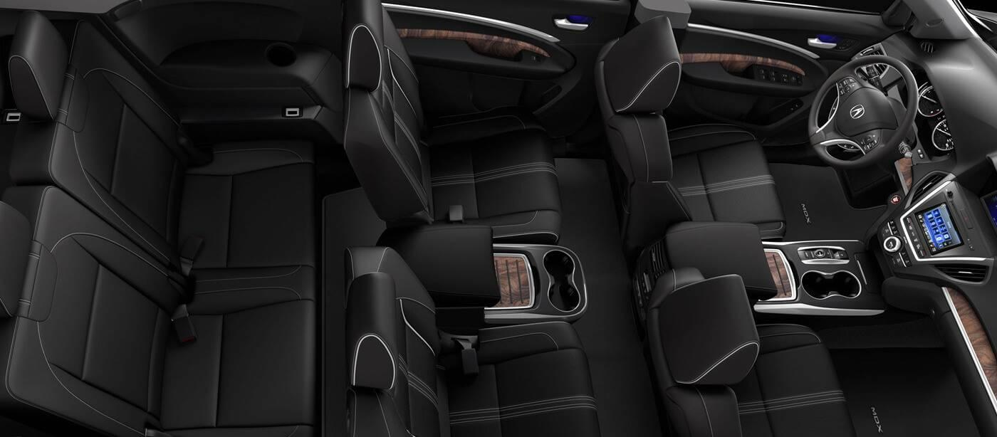 Check Out the the 2017 Acura MDX's Interior Design