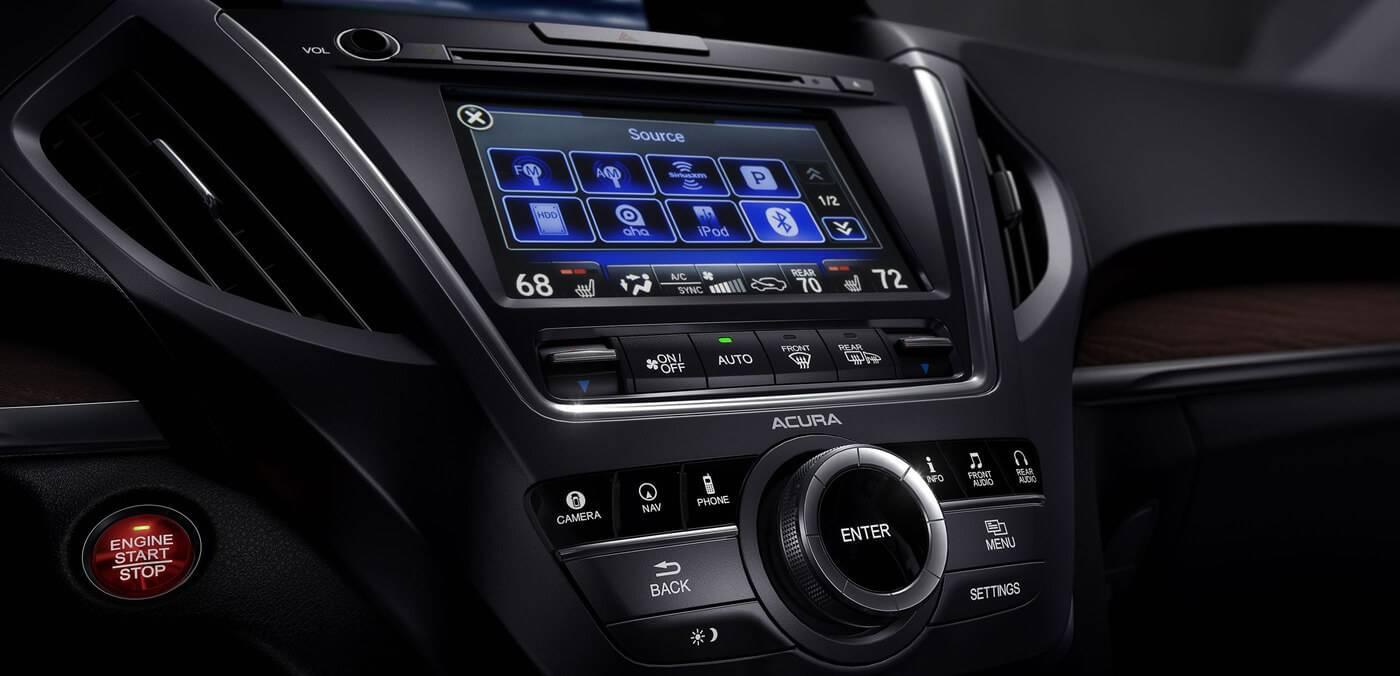 2017 Acura MDX Multi-Use Display