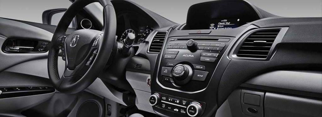 interior features of the 2017 acura rdx rallye acura. Black Bedroom Furniture Sets. Home Design Ideas