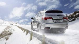 2017 Acura RDX Snow