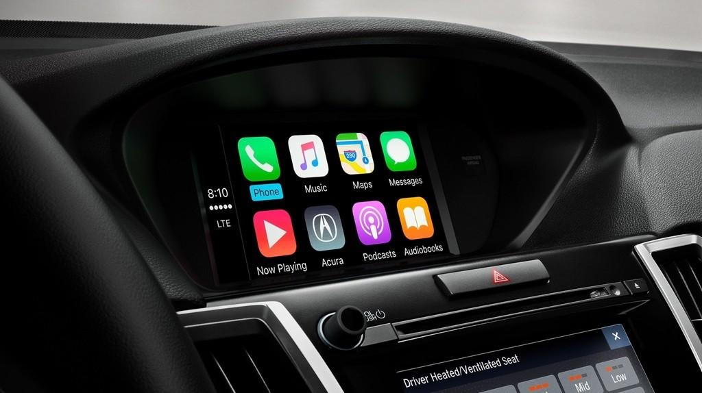 2018 Acura TLX Bluetooth Dashboard