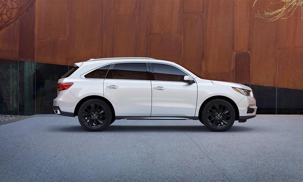 2018 Whire Acura MDX