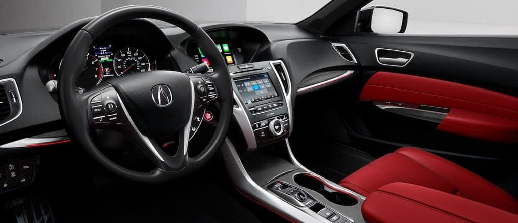 The Sophisticated Interior of the 2018 Acura TLX | Rallye Acura