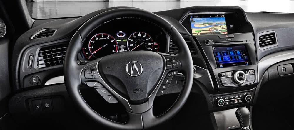 Touring The 2018 Acura ILX Interior