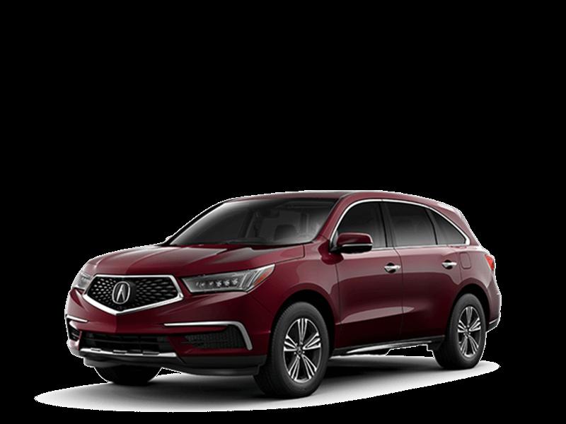2018 Maroon Acura MDX
