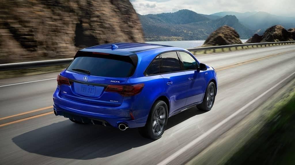 2019 Acura MDX blue exterior