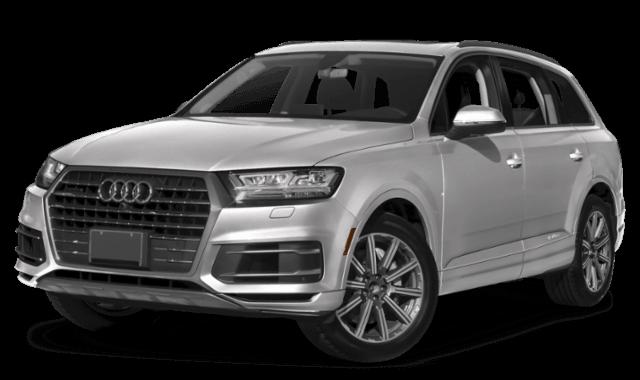 2019 Audi Q7 white SUV