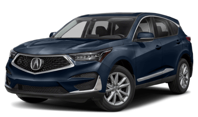 2019 Acura RDX blue SUV
