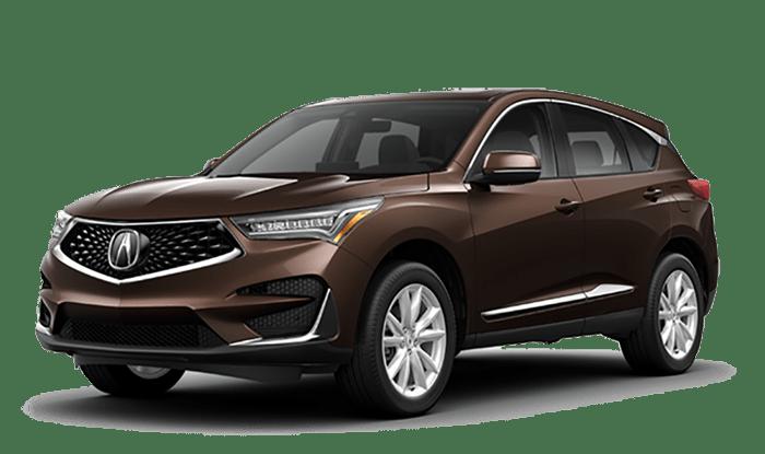 2020 Acura RDX Brown
