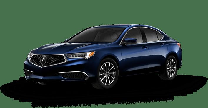 2020 Acura TLX Blue