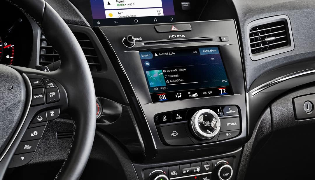 multi-use display in 2019 Acura ILX