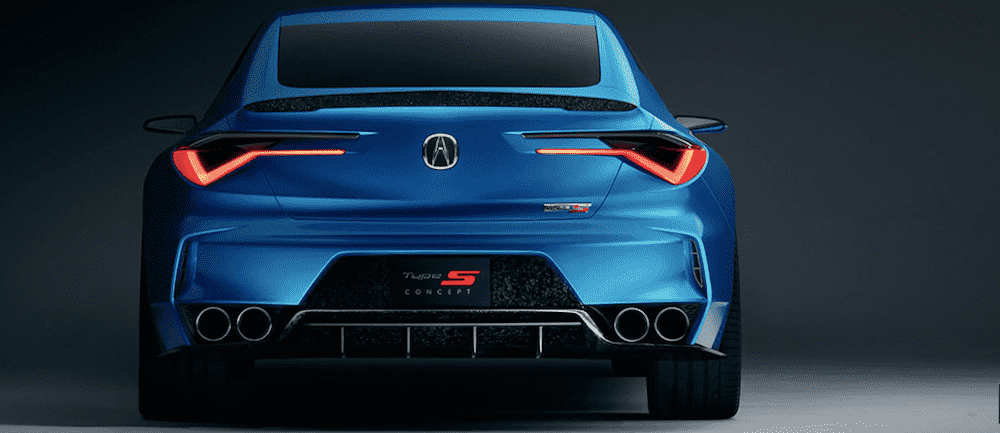 The New Acura Type S Concept Rallye Acura