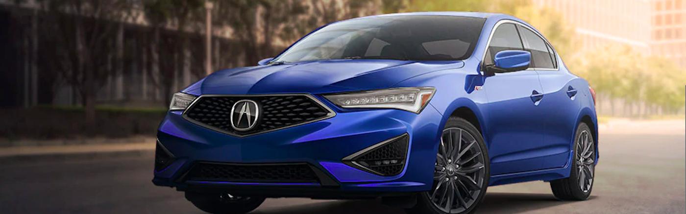 2020 Blue Acura ILX
