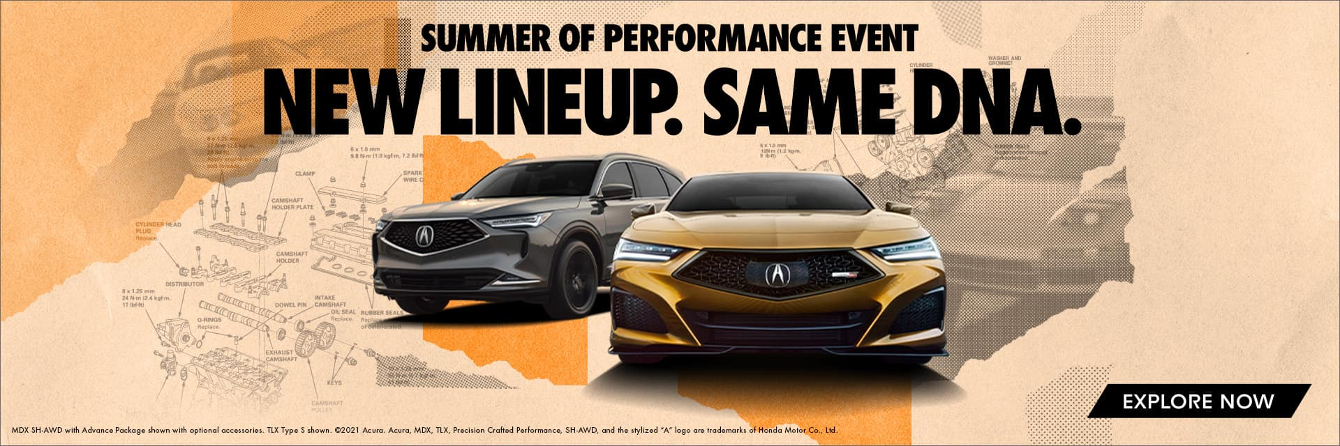 Summer of Performance Event. New Lineup. Same DNA