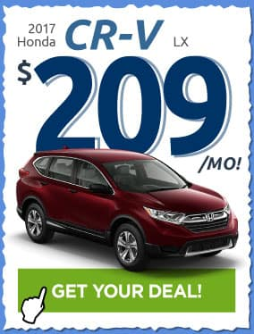 2017 Honda CR-V Offer
