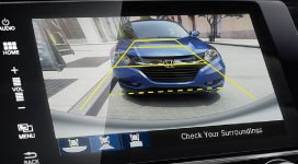 Photo of the new 2016 Honda Civic Sedan Multi-Angle Camera