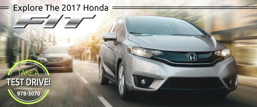 Header Photo of the new 2017 Honda Fit