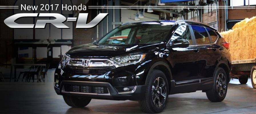 Header Photo of the new 2017 Honda CR-V
