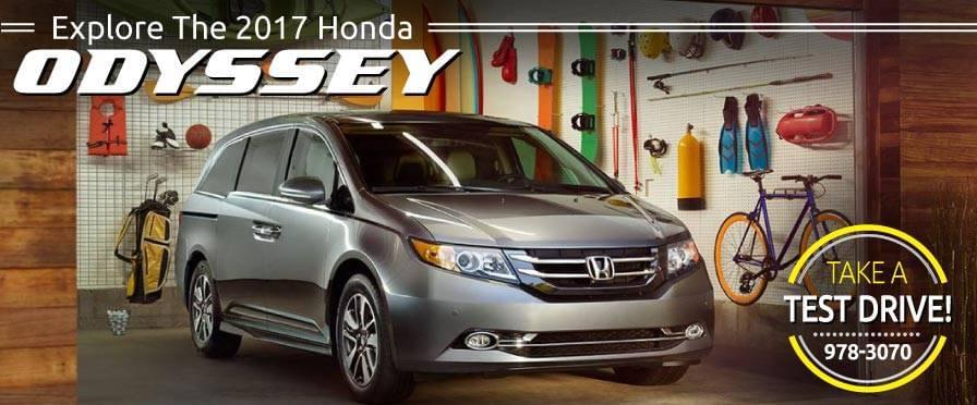 Header Photo of the new 2017 Honda Odyssey