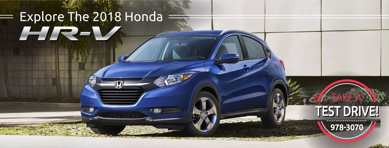 Header Photo of the new 2018 Honda HR-V