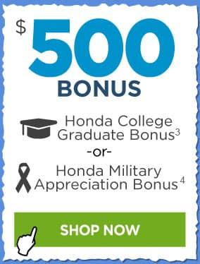 Honda Military and College Grad Bonus Offers