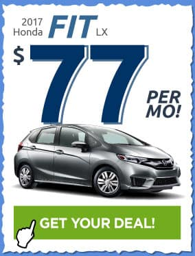2017 Honda Fit Offer