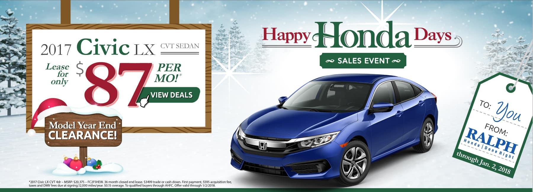 Honda lease deals rochester ny lamoureph blog for Honda lease options