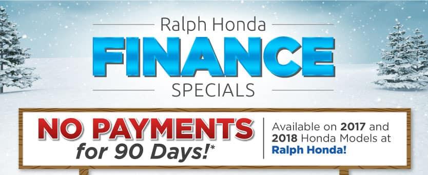 Ralph Honda Finance Specials