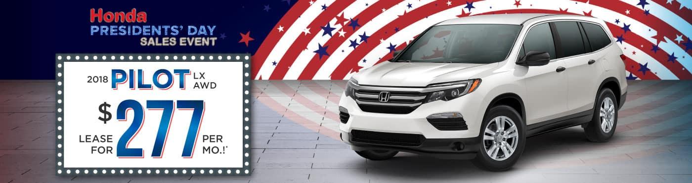 Header Photo of the new 2018 Honda Pilot