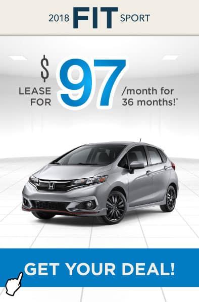 2018 Honda Fit Offer