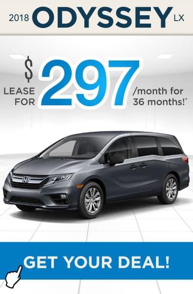 2018 Honda Odyssey Offer